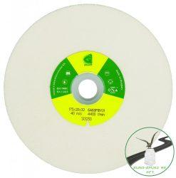 Gránit Sima köszörűkorong 350x40x127  (Fehér)