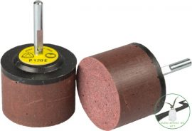 Klingspor RFM 652 R-Flex pikkelyező, 30 x 30 x 6 mm szemcse P120