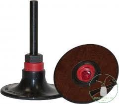 Klingspor QRC 555 quick ch. gumitányér, 25 x 6 mm