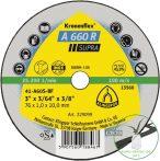 Klingspor A 660 R Mini vágókorongok, 76 x 1 x 10 mm egyenes