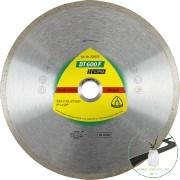 Klingspor DT 600 F Gyémánt vágókorongok, 100 x 1,6 x 22,23 mm 1,6 x 7 mm, Folyamatos vágóél