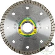 Klingspor DT 900 FT Gyémánt vágókorongok, 180 x 2 x 22,23 mm 2 x 7 mm, Folyamatos turbó vágóél