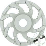 Klingspor DS 600 S Gyémánt csiszolótányér, 125 x 7,2 x 22,23 mm 16 Szegmensek 7,2 x 5,5 mm, SPG
