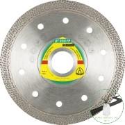 Klingspor DT 900 FP Gyémánt vágókorongok, 125 x 1,4 x 22,23 mm 1,4 x 10 mm, profilírozott vágószél
