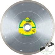 Klingspor DT 900 FL Gyémánt vágókorongok, 200 x 1,6 x 30 mm 1,6 x 7 mm, folyam. él lézer nyílásokkal