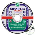 Gránit Graniflex Plussz vágókorong 115x2,5x22,23