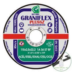 Gránit Graniflex Plussz Speciál vágókorong 125x2,5x22,23