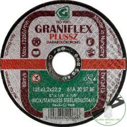 Gránit Graniflex Plussz Inox vágókorong 125x3,2x22,23