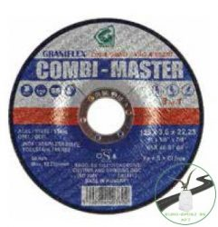 Graniflex Combi-Master 125x3,5x22,23