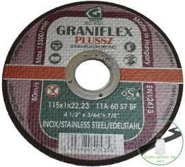 Gránit Graniflex Plussz Inox 115x1,0x22,23