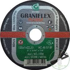 Gránit Graniflex Plussz Alu 125x1,0x22,23