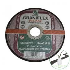 Gránit Graniflex Plussz Inox 125x1,6x22,23