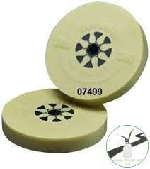 3M CLEAN AND STRIP hántolókorong, bézs, 100mm x 16mm, Tömör Fóliaradír