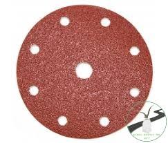 Klingspor PS 22 K Tárcsa tépőzáras, 150 mm szemcse P24 lyukasztási forma GLS1