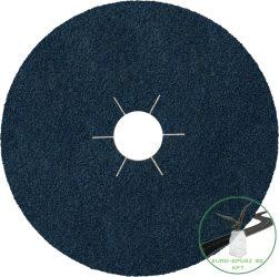 Klingspor CS 565 Fíbertárcsák, 115 x 22 mm szemcse P36 csillag bevágású