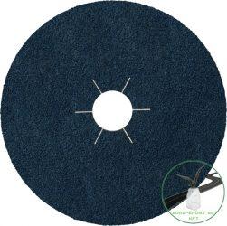 Klingspor CS 565 Fíbertárcsák, 180 x 22 mm szemcse P80 csillag bevágású