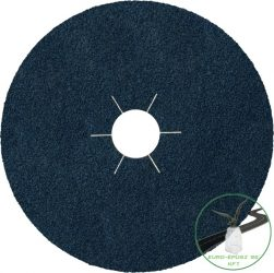 Klingspor CS 565 Fíbertárcsák, 125 x 22 mm szemcse P60 csillag bevágású