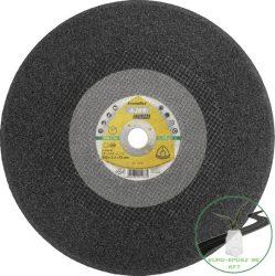 Klingspor A 24 R Nagyméretű vágókorongok, 300 x 3 x 25,4 mm egyenes