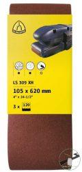 Klingspor LS 309 XH Szalagok kézi gépekhez, 100 x 610 mm szemcse P60 F5, Kiakaszt. csomagolás