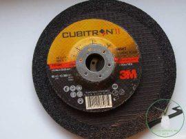 3M Cubitron II. tisztító és vágó korong 125x4,2x22 mm