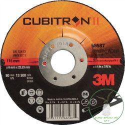 3M Cubitron II. tisztítókorong 115x7x22 mm